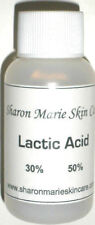 Lactic Acid 50%-1oz Increases collagen, Anti:acne, wrinkle, crepey skin,freckles