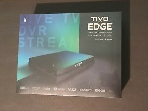 TiVo EDGE DVR Streaming Media Player for Antenna 2 Tuners 500GB Storage RD6F50