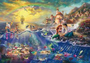 Thomas Kinkade - Disney The Little Mermaid Canvas 20X30 Inches Wall Art