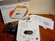 New At&T 1740 Digital Answering System with Time and Day Stamp