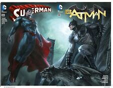 "Batman 50 Superman #50 Dell'Otto Bulletproof Connecting ""Pre sell"" Ships 3/23/16"