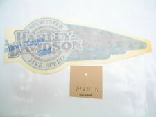 NOS Fuel Tank DECAL 14235-91 Left Side Sportster XLH 1200 Five-Speed