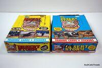 LOT OF (2) 1991 TOPPS DESERT STORM WAR WAX BOXES 36 PACKS PER BOX