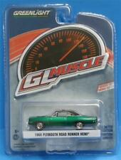 Greenlight 1:64 GL Muscle R22 1968 Plymouth Road Runner Hemi in CHASE CAR GREEN
