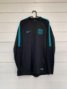 Nike FC Barcelona Mens Tracksuit Black Size L