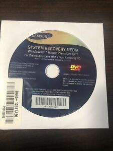 Microsoft Windows 7 Home Premium Samsung Restore Media (64 Bit)