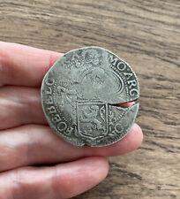 More details for netherlands. silver lion daalder. dated 1610.
