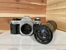 Canon AE-1 SLR Film Camera - Black
