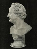 Nach C.RAUCH (*1777), Marmorbüste des Dichters J.W.Goethe (*1749), Fotografie