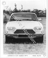 1977 CITROËN GS CLUB PRESSEBILD PRESS FACTORY PICTURE BILD PHOTO ORIGINAL.