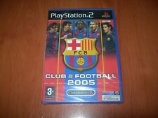 FC BARCELONA CLUB FOOTBALL 2005 PS2 (PAL ESPAÑA PRECINTADO)