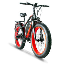 "Cyrusher Electric Bike 26"" XF650 1000W 13AH Electric Mountain Bike Fat Tire Bike"