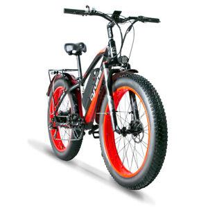 """Cyrusher Electric Bike 26"""" XF650 1000W 13AH Electric Mountain Bike Fat Tire Bike"""