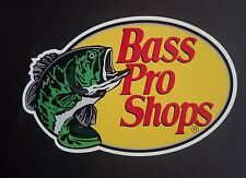 2 new Bass Pro Shop Fishing stickers Truck Bumper Window toolbox Decal