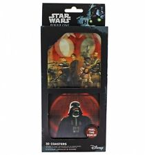 STAR WARS ROGUE ONE - SET OF 8 DRINKS COASTERS - 3D LENTICULAR - BRAND NEW