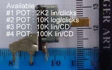 Potentiomètres Pour analogique console soundtracs Soundcraft Trident Amek etc