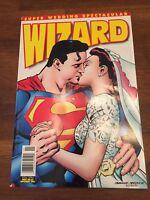Wizard Mazagine November 1996 Issue No. 63 Super Wedding Spectacular Superman