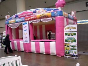 Commercial Inflatable Food Drink Concession Stand Tent Booth 20'x10'x13' NEW