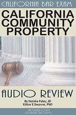 California Community Property LAW , Summary Audio Review