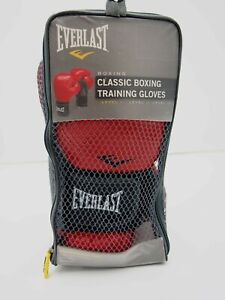 Everlast Classic Boxing Training Gloves - Red Level 1 Model No. 5112