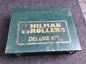 """HILMAN ROLLERS 3 ton Swivel Top  """" GREAT SHAPE """""""
