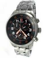 SWISS MILITARY HANOWA 06-5263.04.007.79 CHRONOGRAPH Edelstahl Swiss Made NEU