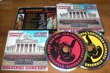 Leningrad Cowboys - Helsinki Concert 2 CD Box