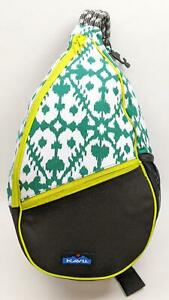 Kavu Paxton Forest Blot One Size Canvas Pack Bag Backpack