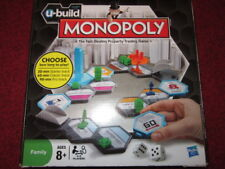 FAMILY MONOPOLY U-BUILD BOARD GAME PLAY YOUR LENGTH OF GAME 8+ SEE DETAILS
