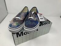 NEW Vans MOMA Water Lilies By Claude Monet Authentic Size Women's 9 Men's 7.5