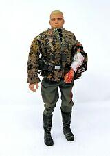 *** CUSTOM DRAGON 1/6 WWII ALFRED GERMAN ARMY LAH DIVISION W/ INJURED ARM ***