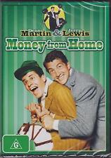 MONEY FROM HOME - DEAN MARTIN - JERRY LEWIS - MARJIE MILLAR - DVD - NEW -