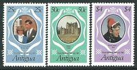 Antigua 1981 - Royal Wedding Prince Charles and Lady Di Royalty - Sc 623/5 MNH