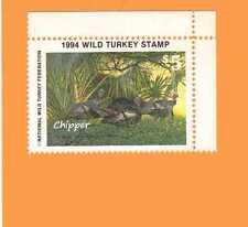 1994 NWTF WILD TURKEY STAMP CALL FREE SHIPPING