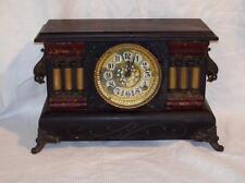 Antique Gilbert 8 Day Time and Strike Mantle Clock in Running Cond. ~ca. 1912~