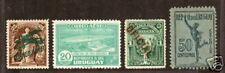 Uruguay Sc C3/Q5 Mlh. 4 diff Back of Book issues F-Vf
