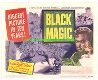 BLACK MAGIC1949 LOBBY CARD PB VF 11x14 Inch size MOVIE POSTER ORSON WELLES