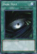 3x Yugioh SDWA-EN023 Dark Hole Common Card
