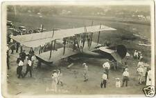 "EARLY AIRCRAFT ""AMERICA"" & ORIGINAL ca 1910's REAL PHOTO POSTCARD"