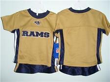 NWT St. Louis Rams 2 piece short  reebok Size 3 Toddler