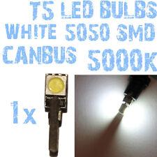 N° 1 LED T5 CANBUS Branco 5000K SMD 5050 Faróis Angel Eyes DEPO FK 12v 1A2A 1A2A