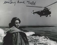 Shirley Anne Field Signed 8x10 Photo -THE WAR LOVER (1962)  - STUNNING!!! G202