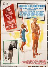 manifesto 2F originale UNA GUIDA PER L'UOMO SPOSATO Walter Matthau 1967