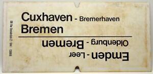 Emden - Bremen / Cuxhaven - Bremen / Bremen - Cuxhaven / Bremerhaven  108