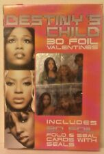 NEW - DESTINY'S CHILD - 30 FOIL - VALENTINES CARDS - MADE IN 2001 - SEALED