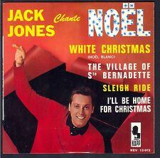 45T NOEL CHRISTMAS JACK JONES CHANTE NOËL 45T EP BIEM VOGUE KAPP 13012