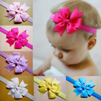 Toddler hair bands Infant Hair Accessories Baby Bow Headband