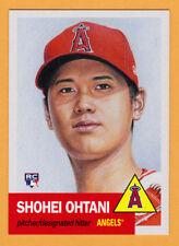 Shohei Ohtani Los Angeles Angels 2018 Topps 1953 Living Set 7