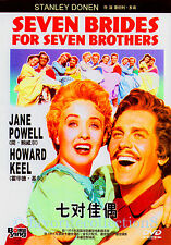 Seven Brides for Seven Brothers (1954) - Jane Powell, Howard Keel - DVD NEW