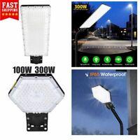 300W 100W LED Road Street Flood Light Garden Spot Head Outdoor Lamp Yard IP65